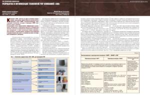 Разработка и оптимизация технологий РИР компанией «СНК»