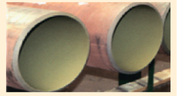 Рис. 3. Внутреннее антикоррозионное покрытие