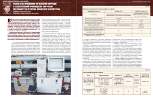 Результаты применения ингибиторов коррозии и солеотложений производства ООО «ФЛЭК» при защите ГНО в России, Казахстане и Белоруссии