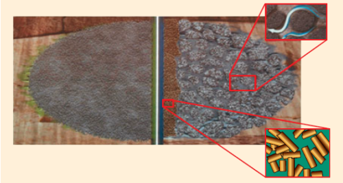 Рис. 27. Использование цилиндрического проппанта в качестве докрепляющего пульса при ГРП с созданием каналов