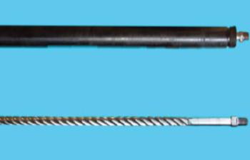 Внешний вид винтового погружного насоса серийного образца