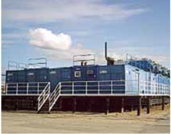 Рис. 1. ГПЭС на Средне-Хулымском месторождении