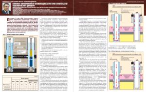 Комплекс мероприятий по оптимизации затрат при строительстве скважин малого диаметра