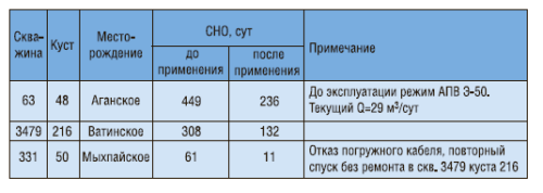 Рис. 6. Установка центробежно-вихревого погружного электронасоса «Орион»