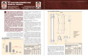 Опыт эксплуатации осложненного фонда скважин НГДУ «Ямашнефть»