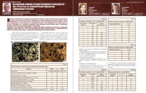 Исследование влияния отходов кремниевого производства ООО «РУСАЛ ИТЦ» на технологические показатели тампонажного раствора
