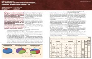 Опыт эксплуатации скважин Высоковского месторождения, осложненных высоким газовым фактором и АСПО