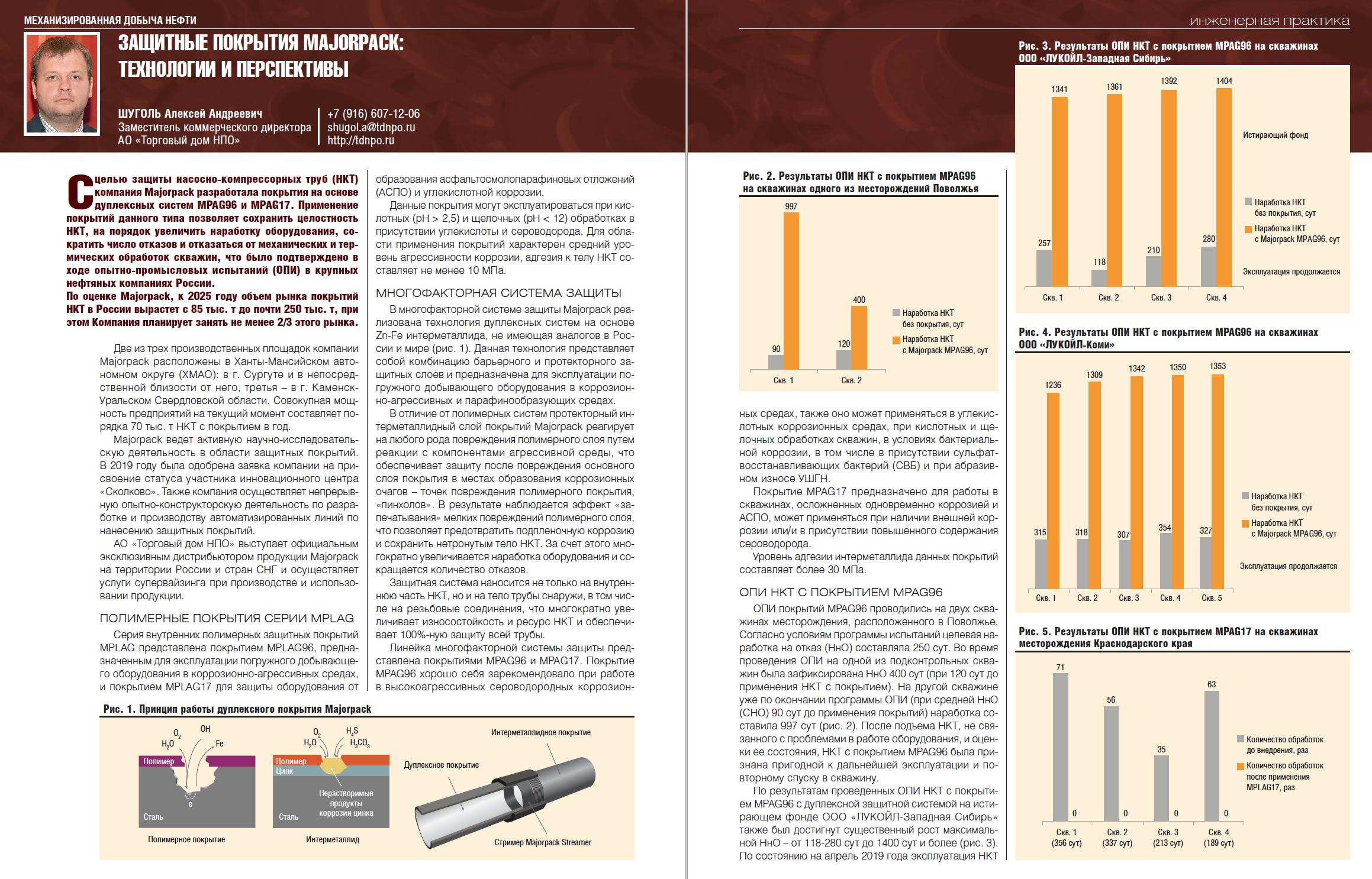 30236 Защитные покрытия Majorpack: технологии и перспективы