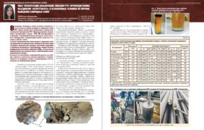 Опыт эксплуатации добывающих скважин РУП «Производственное объединение «Белоруснефть» в осложненных условиях по причине выпадения хлоридных солей