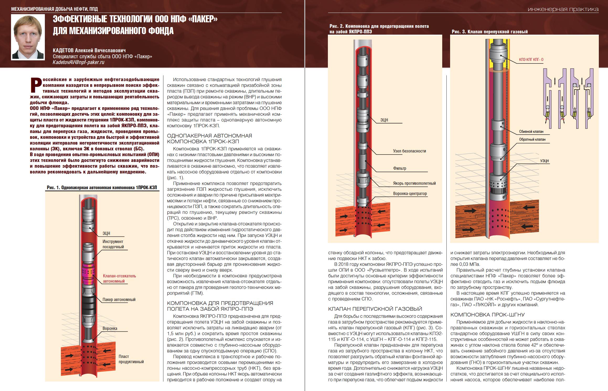 31983 Эффективные технологии ООО НПФ «Пакер» для механизированного фонда