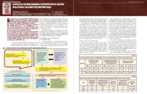 Выработка оптимизационных мероприятий по закачке избыточных объемов подтоварной воды